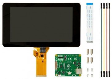 "Original Raspberry Pi 7"" Touch Screen Display mit 10 Finger Capacitive Touch"