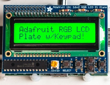 Adafruit RGB Positive 16x2 LCD+Keypad Kit für Raspberry Pi