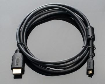 Micro HDMI to HDMI Cable, 1.5m
