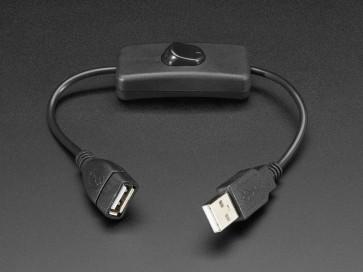 USB Kabel mit Schalter