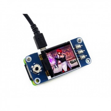 Waveshare 1.44inch LCD display HAT for Raspberry Pi (128x128)