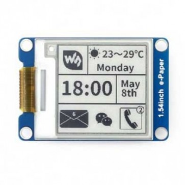 1.54inch E-Ink Display Module - ePaper (200x200)