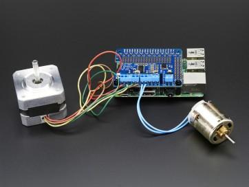 Adafruit DC & Stepper Motor HAT für Raspberry Pi - Mini Kit