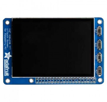 "PiTFT Plus 320x240 2.8"" TFT + Capacitive Touchscreen Mini Kit - Pi 2, Pi 3 and Model A+ / B+"