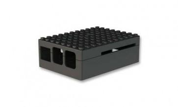 PI-BLOX Gehäuse für Pi B+, Pi 2/3, ABS, schwarz