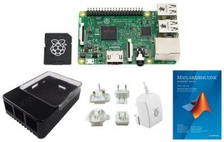 Mathworks-Starter Kit Raspberry Pi 3