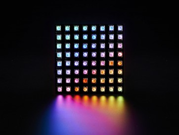 Flexible Adafruit DotStar Matrix 8x8 - 64 RGB LED Pixels