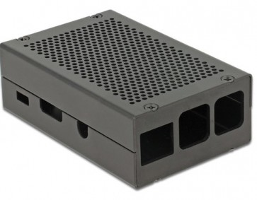 Industrie Gehäuse für Raspberry Pi 2/3/B+ (schwarz)