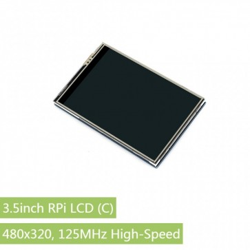 3.5inch RPi LCD (C), 480x320, High-Speed SPI