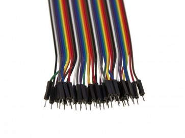 Kabel Set (ca. 40 Stück) - male/male