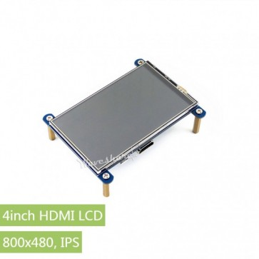 Waveshare 4inch HDMI LCD, 800×480, IPS