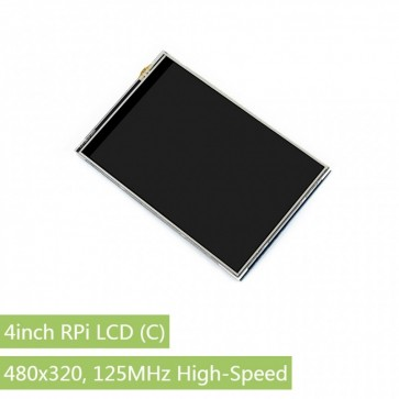 4inch RPi LCD (C), High-Speed SPI