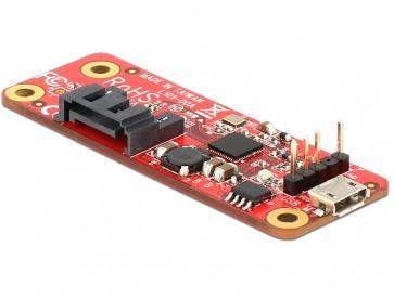 Delock USB zu SATA Konverter für Raspberry Pi