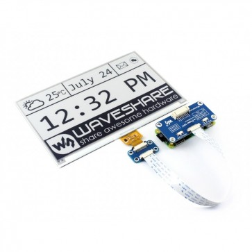 7.5inch E-Ink display HAT (640x384)