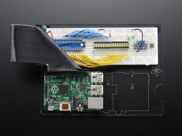 Adafruit Pi Dish für Raspberry Pi - inklusive Breadboard (Steckplatine)