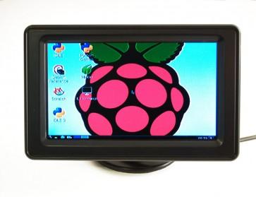 NTSC/PAL (Television) TFT Display - 4.3 Zoll (11cm)  Bildschirm