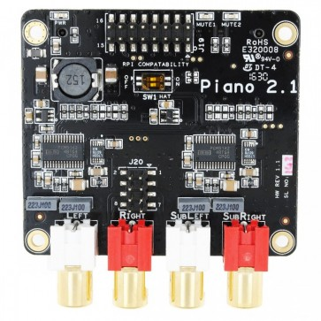 Allo Piano 2.1 Hi-Fi DAC mit Subwoofer Out