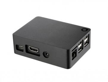 Anidées Full Aluminium Raspberry Pi Case B+/2/3 (schwarz)