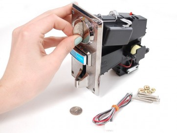 Coin Acceptor - Programmable 4 Coin Type