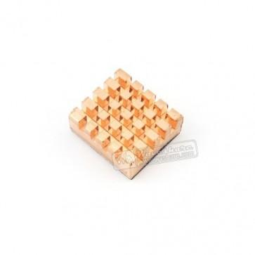 Kühlkörper aus Kupfer für Raspberry Pi
