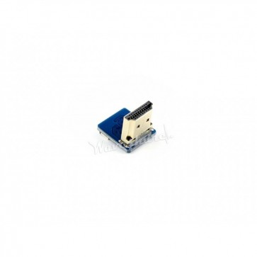Right-angle HDMI Plug Adapter
