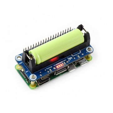 Li-ion Battery HAT für Raspberry Pi, 5V Output, Quick Charge