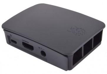 Offizielles Gehäuse der Raspberry Pi Foundation für Pi 2/3 - schwarz/grau