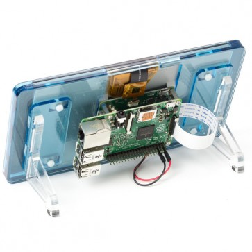 "Raspberry Pi 7"" Touchscreen Display Frame - Flotilla (Hellblau)"