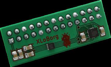 XLoBorg - Bewegungs- und RIchtungssensor für den Raspberry Pi