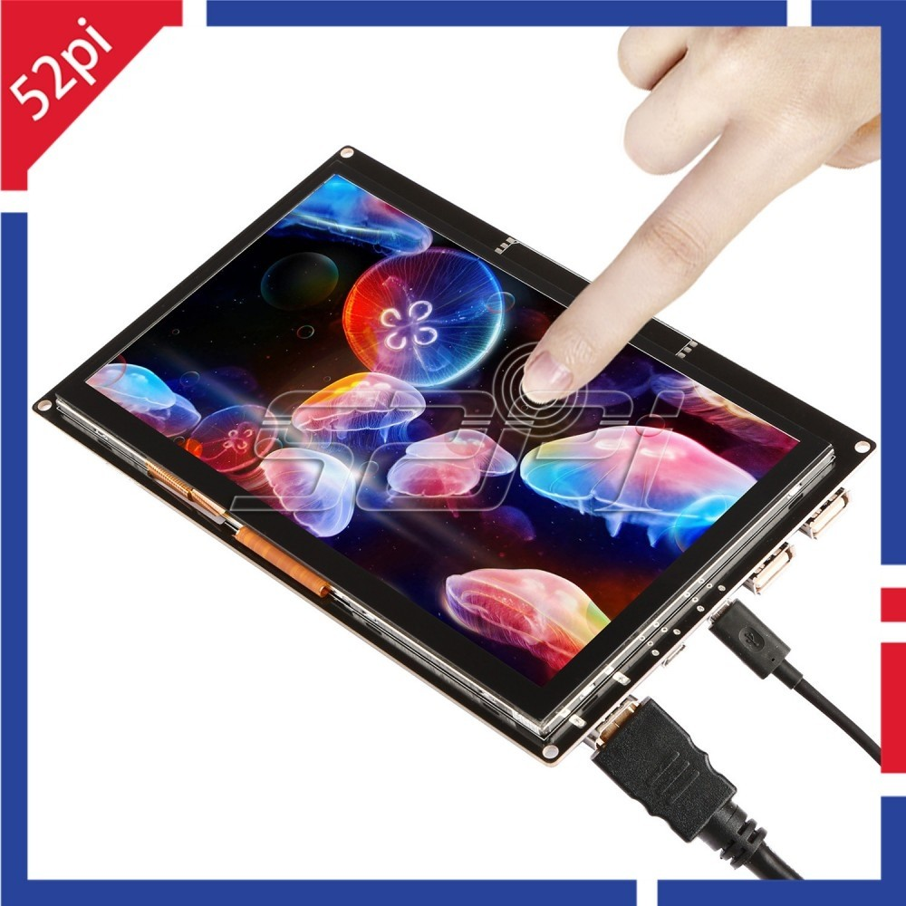 Raspberry Pi - 7 Inch 1024x600 Capacitive Touch Screen LCD ...
