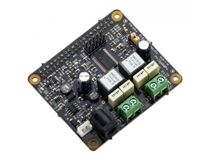 d7fee19509ffc6 IQaudIO Pi-DigiAMP+ Full-HD Raspberry Pi Class D Amplifier DAC