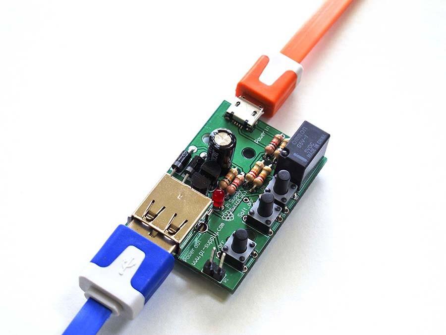 0439dc605cc417 Pi Supply Switch – On Off Schalter für Raspberry Pi (Kit) ...