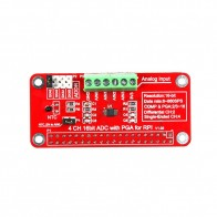 52Pi - 16 Bits I2C ADS1115 Module ADC 4 Channel for Raspberry Pi 3/2 Model B/B+