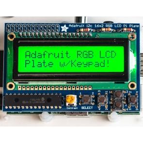 Adafruit RGB Positive 16x2 LCD+Keypad Kit für Raspberry Pi