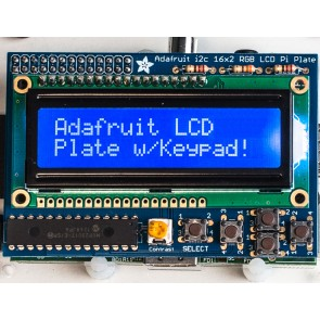 Adafruit Blue&White 16x2 LCD+Keypad Kit für Raspberry Pi