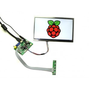 10.1' Zoll LCD Display - 1366x768 HDMI/VGA/NTSC/PAL
