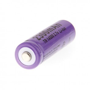 3.7V 2300mAh 14500 Rechargeable Li-ion Battery