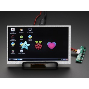 HDMI 4 Pi: 7 Zoll (18 cm) Display (no Touch) mit Mini Driver - 800x480 HDMI