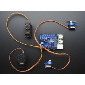 Adafruit 16-Channel PWM / Servo HAT für Raspberry Pi - Mini Kit