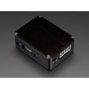Edles Alugehäuse für Raspberry Pi B+, Pi 2 und Pi 3 - schwarz (anidees)