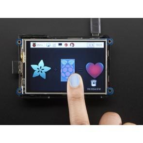 """PiTFT Plus 480x320 3.5"""" TFT+Touchscreen für Raspberry Pi Model A+ & B+ & Pi 2 & Pi 3"""