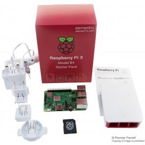 Komplettes Starter-Kit für Raspberry Pi 3 Model B+, offizielles Gehäuse & Netzteil enthalten