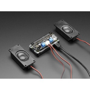 Stereo Bonnet Pack für Raspberry Pi Zero - Inklusive Raspberry Pi Zero v1.3