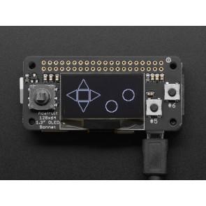Adafruit 128x64 OLED Bonnet für Raspberry Pi