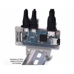 DINrPlate - Raspberry Pi Zero DIN Rail Mount