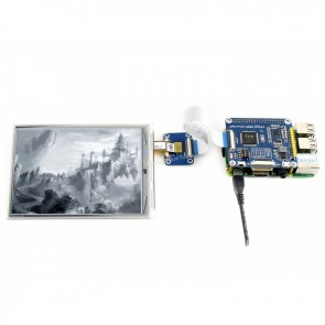 800x600, 6inch E-Ink display HAT for Raspberry Pi