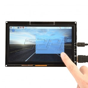 7 Inch 1024x600 Capacitive Touch Screen HDMI TFT LCD Display for Raspberry Pi/Beagle Bone Black/Windows 10/MacBook Pro.