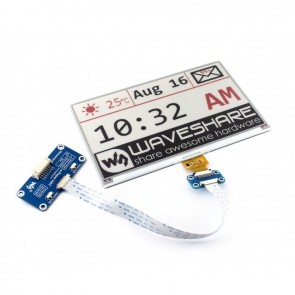 7.5inch E-Ink display HAT, three-color (640x384)