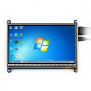 Waveshare Display 7inch HDMI LCD (C), 1024×600, IPS