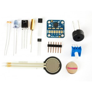 Adafruit Sensor Pack: 9 Sensoren und 3 Komponenten